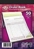 Pukka Pad, NCR Duplicate Order Book 137 x 203mm  Pack of 5