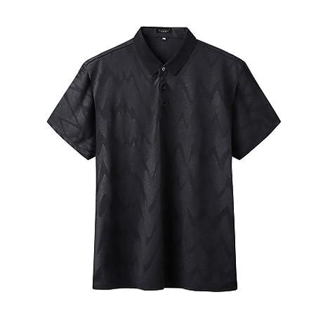 LiXiZhong Camisa De Polo para Hombre Camiseta De Manga Corta para ...