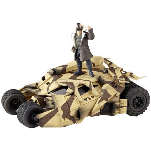 (Kaiyodo Sci-Fi Revoltech #047: Batmobile Camouflage Tumbler Vehicle)