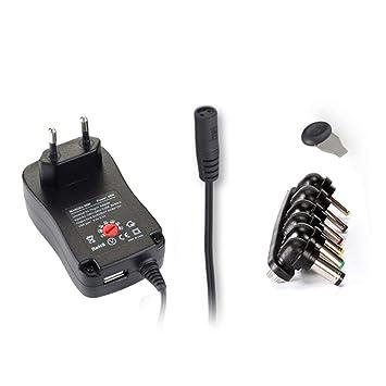 3-12V Fuente de alimentación Ajustable con Puerto USB ...