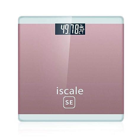 FOONEE Báscula de Peso para Mujer, Báscula de Baño de Peso Corporal Digital de Alta