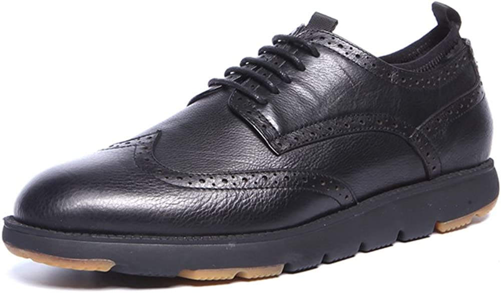 WLJSLLZYQ Mens Shoes Fashion Carved//Mens Casual Mens Shoes of England