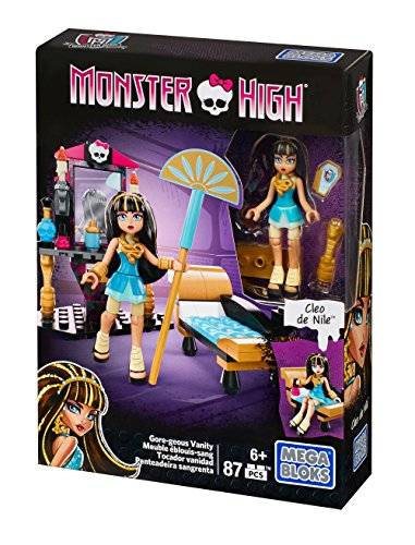Mega Construx Monster High Cleo's Gore-geous Vanity Playset -