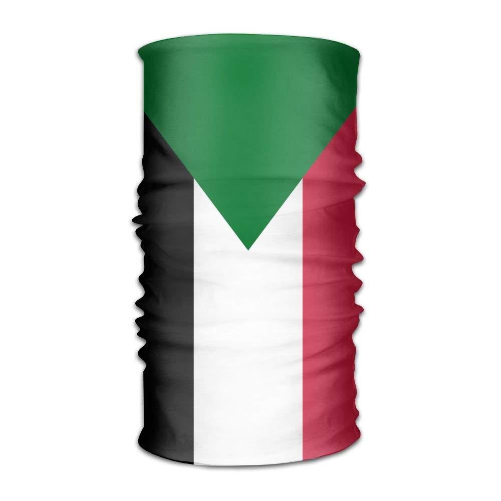 hongwenjy スーダン国旗 ユニセックス アウトドア スポーツ スカーフ ヘッドバンド バンダナ マスク ネックゲートル ヘッドラップ スウェットバンド ヘッドウェア   B07MR6BQRC
