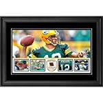 3c57be9b7 Aaron Rodgers Green Bay Packers Framed 10