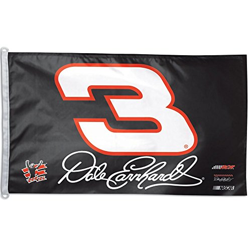 Nascar Banner (WinCraft NASCAR Dale Earnhardt WCR63171012 2 Sided Flag, 3' x 5')