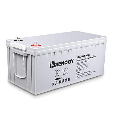 Renogy Deep Cycle Agm Battery 12 Volt 200AH