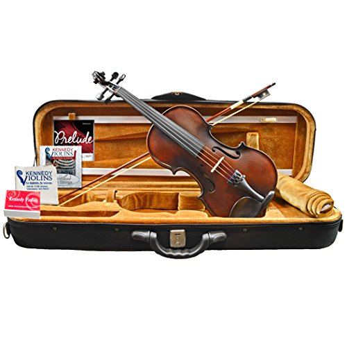 Bunnel Premier Clearance Violin Outfit 4/4 (Full) Size by Kennedy Violins