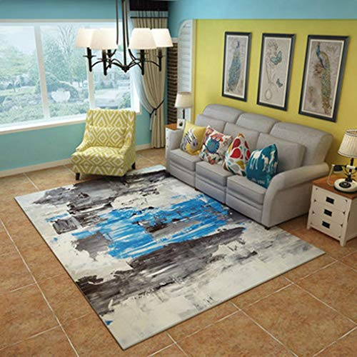 GIY Abstract Living Room Area Rugs Rectangular Colorful Carpets Children Crawling Bedroom Mats Home Decor Outdoor Indoor Runners 1.5' X 2' by GIY