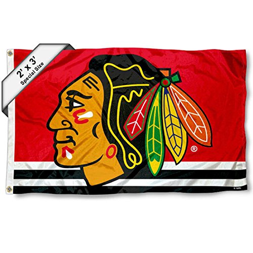 - Wincraft Chicago Blackhawks 2'x3' Flag