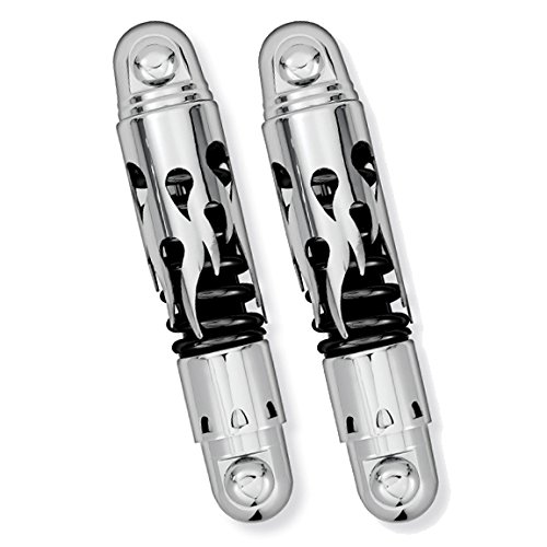 (Progressive Suspension 812-4037CFBS Flame Chrome 11