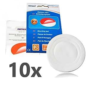 10x Nemaxx NX1 Adhesivo Circular de Doble Cara - Adhesivo de Fuerte fijación para un Montaje rápido y Sencillo de Detectores de Humo: Amazon.es: Bricolaje y ...