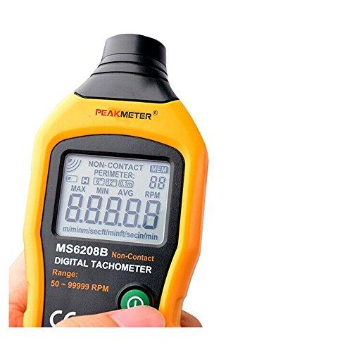 Protmex MS6208B 50-250mm Non-contact Measurement Digital