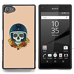 - Gold Racer Wreath Champion Bike Car - - Snap-On Rugged Hard Cover Case Funny HouseFOR Sony Xperia Z5 compact / mini
