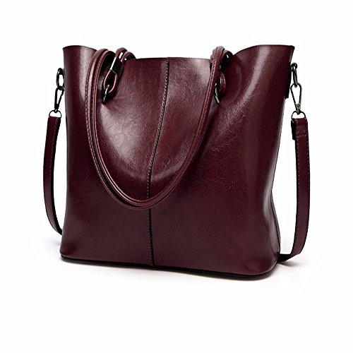 2018 los nuevos europeos y americanos bucket bag, bolso PU, solo bolso de hombro, bolso,La cafeína La Cafeína