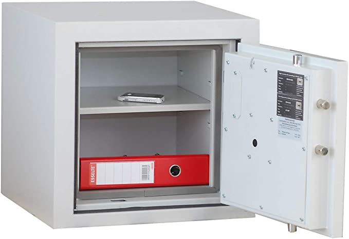 Acero-cabina de seguridad - VDMA A, S1, LFS 30 P tamaño 1870 x 1300 x 510 mm - Estantería para archivadores de protección contra incendios fuego seguro cámaras acorazadas fuego seguro caja
