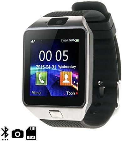 Dam - Smartwatch Á Rtemis Bt Silver Cámara de Fotos y Vídeo Integrada Admite Tarjeta sim y Micro Sd de Hasta 32Gb Mensajería: Amazon.es: Electrónica
