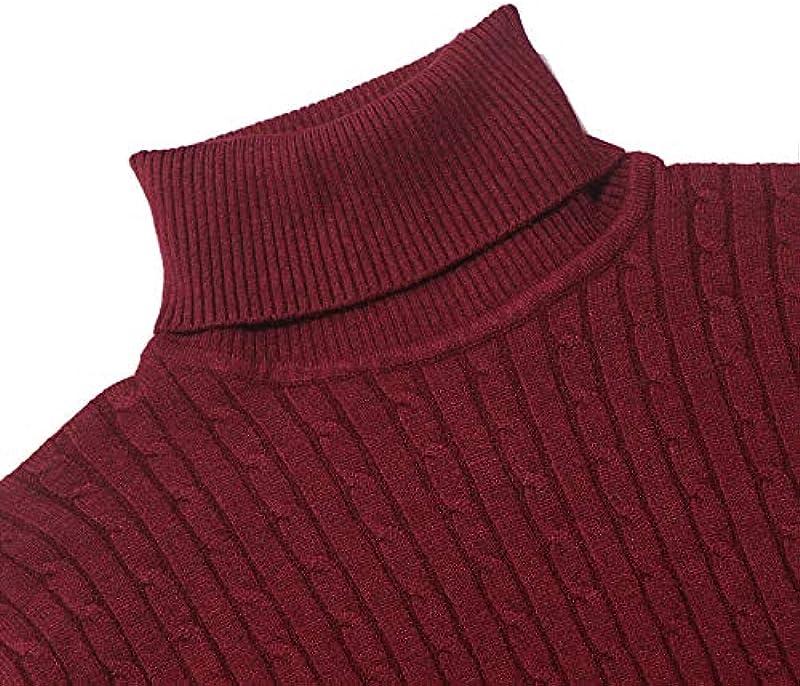 NTOW męski sweter z dzianiny z długim rękawem: Odzież