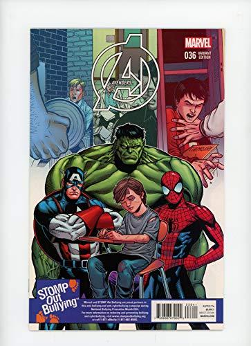AVENGERS #36 | Marvel | December 2014 | Vol 5 | Sean Chen Stomp Out Bullying Variant Cover 1:15