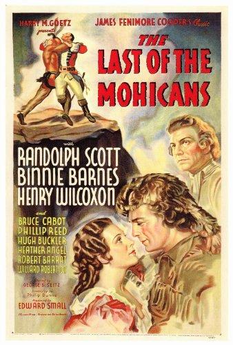 Amazon.com: The Last of the Mohicans – Póster de la película ...