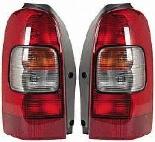 (Go-Parts PAIR/SET OE Replacement for 1997-2005 Chevrolet (Chevy) Venture Rear Tail Lights Lamps Assemblies/Lens / Cover - Left & Right (Driver & Passenger) for Chevrolet Venture)