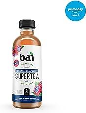 Bai Supertea Tennesse Braspberry Tea, Antioxidant Infused, Crafted with Real Tea (Black Tea, White Tea), 18 Fluid Ounce Bottles, 12 count