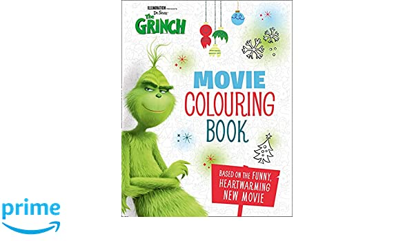 The Grinch: Movie Colouring Book Grinch Movie Tie in: Amazon.es: Sin ...