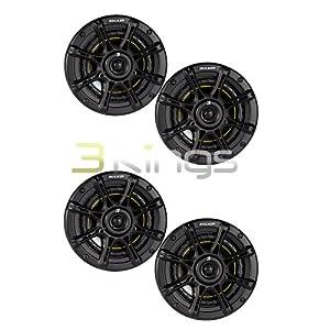 "4) NEW KICKER DS65 6.5"" 200 Watt 4-Ohm 2-Way DS Series Car Audio Speakers 11DS65"