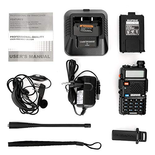 LDJC Walkie-Talkie, Portable Walkie-Talkie 8W High Power Voltage 7.2V DC 1800MAH Lithium Battery Frequency Stability 2.5PPM by LDJC (Image #5)