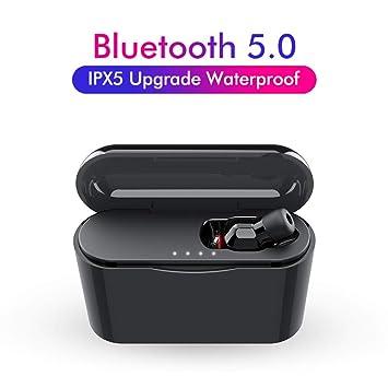 AnJoy - Auriculares inalámbricos con Bluetooth, Sonido HiFi V5 0 ...