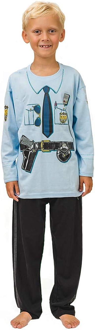 Pijama de Policía de New York y Ropa Casera Divertida
