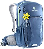 Deuter Bike I 18 SL Women's 18 Liter Backpack with Breathable Back and Adjustable Straps | Hydration Compatible, Rain Cover, Compartments for Hiking, Skiing, Biking, and School - Midnight