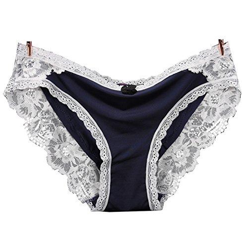 XINWAR SU20504C5 Lace Cotton Women Briefs - Size L (Braun Series 3 340 Charger)