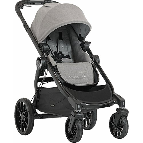 Baby Jogger City Select Lux with Second Seat Double Stroller - Slate by Baby Jogger (Image #1)