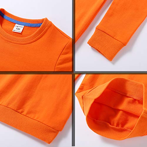 d27cd3dff8f ALALIMINI Baby Toddler Boy Girl s Sweatshirt 2-Pack Dream UP 2T 3T 4T  5(120cm 5-6)