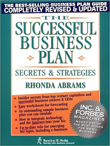 Amazon.com: The Successful Business Plan: Secrets and Strategies ...