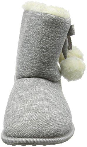 Femme Chaussons Snowflake Dog Rocket Trails Gris Grey 10tqWxZ