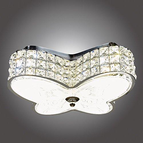 MonaLisa Gallery Crystal Chandeliers Flush Mount Ceilling Pendant Light Fixture SML-501-S W13.5xH5