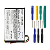 Product review for 1250mAh Replacement 361-00019-12 Li-Polymer Battery for Garmin Edge 605, Edge 705 GPS Navigators With Tool Kits