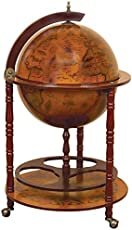 7 cool globe drinks cabinets bars your can buy online the urban trends wood world globe bar gumiabroncs Image collections
