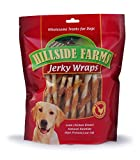 Cheap Hillside Farms Chicken And Rawhide Jerky Wraps Premium Dog Treats, 32-Ounce