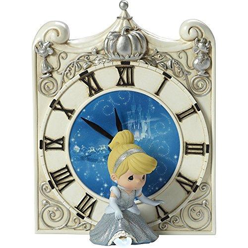 Precious Moments Disney Cinderella Midnight Magic Clock with LED Slipper 173461 ()