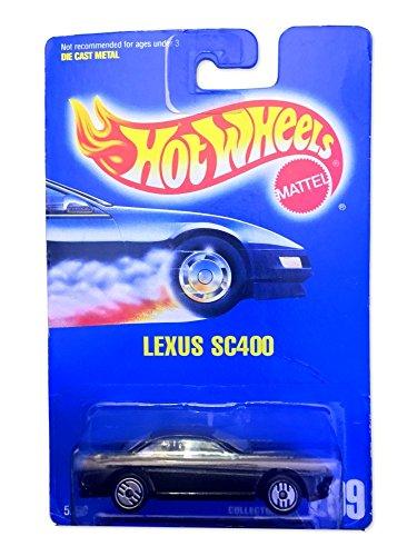 Hot Wheels Blue Card - Hot Wheels Lexus SC400 209 Blue Card 1991