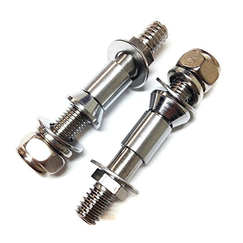 Motorcycle Turn Signal Adapter Mounting Bolts For Harley DYNA SPORTSTER 883 1200 Mirrors new