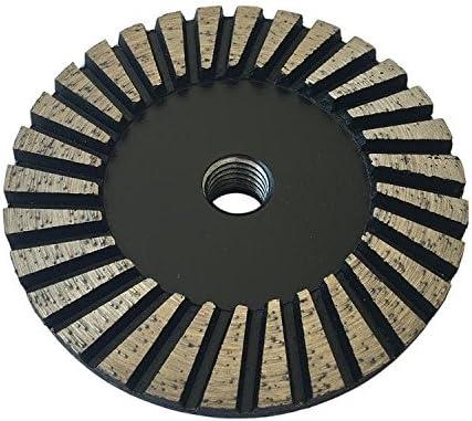 "4/"" Turbo row cupwheel Coarse  26 T 50#-60#"