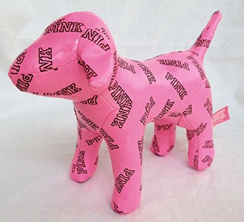"Price comparison product image Victoria's Secret Pink Vinyl 7"" Plush Dog"
