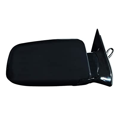 Depo 335-5402R3EL Glossy Black Passenger Side Power Non-Heated Mirror: Automotive