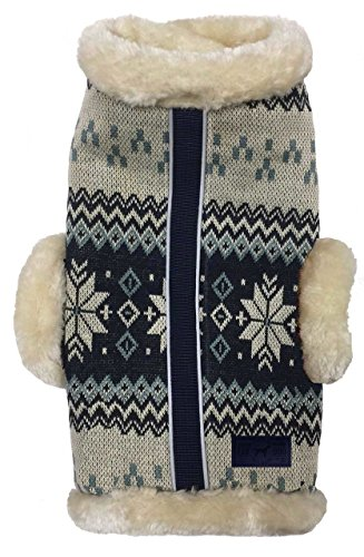 (fabdog Tahoe Lodge Shearling Dog Coat (24