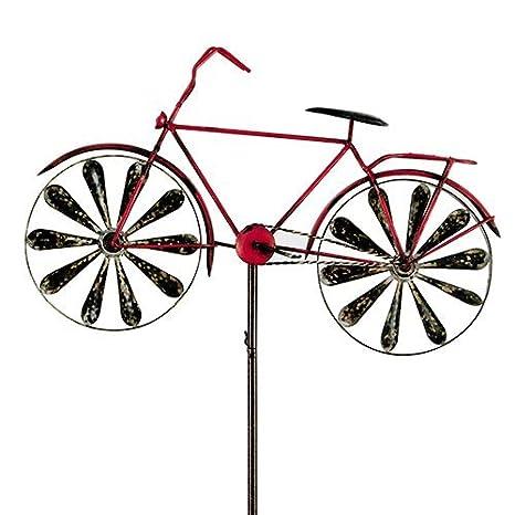Carillon vélo metallwindrad bicylce rouge, décoration de ...