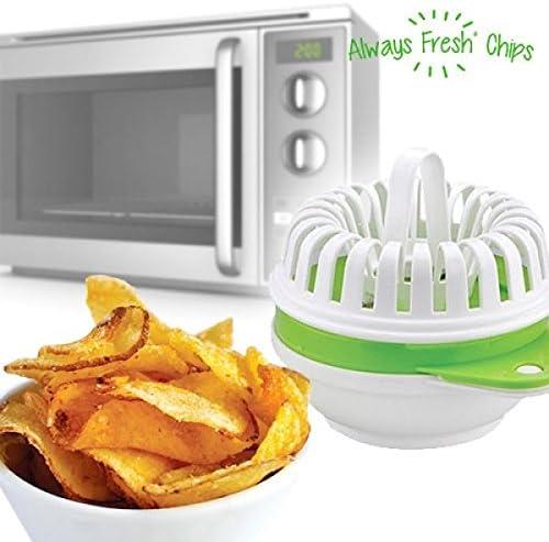 Compra Recipiente para Hacer Patatas Fritas al Microondas en Amazon.es